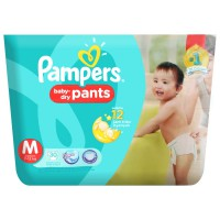 Pampers Active baby dry pants M30 (Paket isi 2)