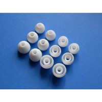 [poledit] 12pcs: S/M/L White Replacement Eartips Earbuds for Monster Beats Dr. Dre Tour, P/1604664
