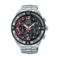 Alba Chronograph AU2171X1 Silver Stainless Band Men's Watch