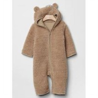 Shocking Deals Long Romper Hoodie Bear Hug Baby GAP - Baju Hangat Baby GAP - Baju Kostum Baby GAP