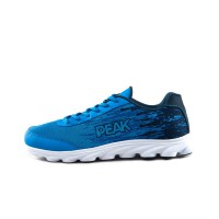 PEAK SEPATU LARI E51057H BIRU GENUINE OLYMPIC MEN SHOES 2015 BREATHABLE SPORTS