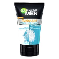 Garnier Men Natural Turbo Light White + Oil Control 100ml