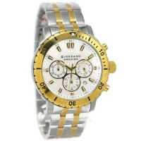 Giordano Jam Tangan Pria Silver Gold Stainless Steel P165-44