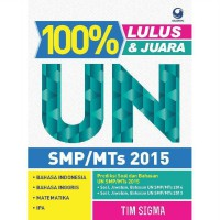 [SCOOP Digital] 100% Lulus dan Juara UN SMP/MTS 2015 by Tim Sigma