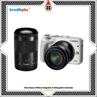 Canon EOS M3 Kit 2 18-55mm f/3.5-5.6 IS STM + 55-200mm f/4.5-6.3 IS STM