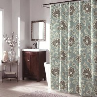 [globalbuy] Ankara bathroom Shower Curtains Printed Polyester screen waterproof Curtain fa/3264337