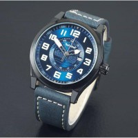 Jam Tangan Pria / Cowok Timberland Watch Leather Blue
