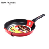 [globalbuy] Gohide 1pcs Non-Stick Frying Pan Electromagnetic Furnace Dual Red Round Frying/3246523