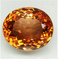 topaz top imperial natural 100% (14x12) 11.57 ct