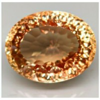 topaz top imperial natural 100% (16x13) 15.65 ct