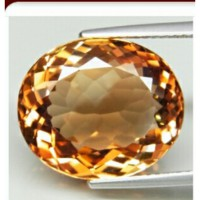 topaz top imperial natural 100% (16x14) 16.02 ct