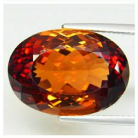 topaz top imperial natural 100% (19x13) 22.46 ct