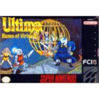 [macyskorea] FCI Ultima: Runes of Virtue II - Nintendo Super NES/5672853