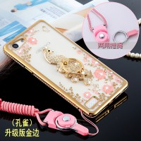Oppo A39 A57 Secret Garden Ring Case Cover Casing