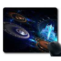 [macyskorea] Rectangle Mousepad Fractal Top Game Mouse Pad PC Computer Gaming Mousepad Fab/10800512