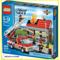 LEGO City # 60003 Fire Emergency Fighters Mainan Anak