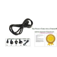 [poledit] Upbright UpBright AC Power Cord Cable Plug For Behringer Ultratone K450FX K3000F/12596787