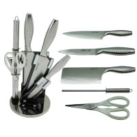 PERFECT CHEF 7 PCS KNIFE SET WITH ACRYLIC HOLDER