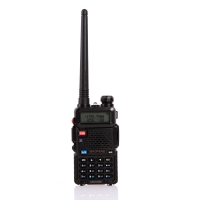 Radio Walkie Handy Talky HT BAOFENG POFUNG Dual Band UHF VHF UV-5R - Black
