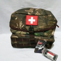 Nemplok Tas Medical Style Outdoor / Coklat Army