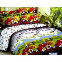 Jaxine Sprei Katun motif Kartun Part 3 Uk.160x200x20 cm Queen