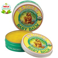 BADGER ORGANIC BABY BALM - ITCHING, DIAPER RASH, CRADLE CAP AND DRY SKIN 21 g