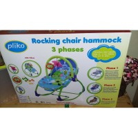 BABY BOUNCER ROCKING CHAIR HAMMOCK - PLIKO -