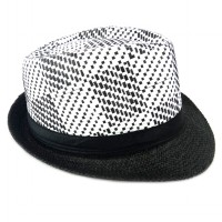 Topi Fedora Plaid TP168