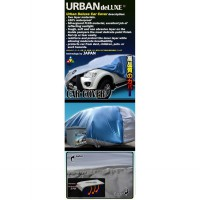 URBAN DELUXE Cover Body Mobil 2 Lapis Kualitas Tinggi - LOW CROSSOVER MPV/SUV - ALL SILVER