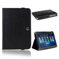 [holiczone] UZZO PU Leather Folio Stand Protection Carrying Case Cover for A13 Q88,Y88,Zee/77375