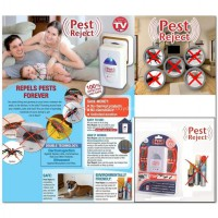 Pest Reject Ultrasound & Electromagnetic Pest Repellent - Pengusir Serangga