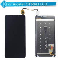 [globalbuy] Black For Alcatel One Touch Idol X+ X Plus OT6043 6043 6043D LCD Display with /2923749