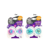 Tommee tippee soother night time 6-18m / Empeng bayi