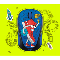 Logitech Mouse Wireless Doodle Collection