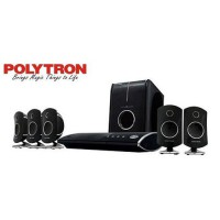 POLYTRON Home Theater System PHT-500SR Hitam FREE DELIVERY JABODETABEK