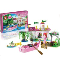 Block Princess Ariel's magical 265 pcs SY322 usia 6+