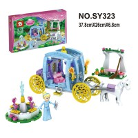 Block Princess Carriage House 287 pcs usia 6+