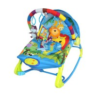 Sugar Baby Rainbow Forest Premium Rocker 10 in 1 Bouncer