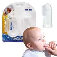 Tooth Brush Pumpee - Sikat Gigi Jari Plus Cover Penyimpan