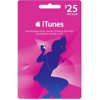 iTunes Gift Certificate / Card US $25