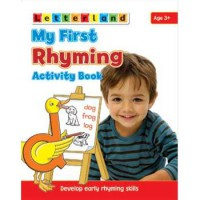 [HelloPandaBooks] Letterland My First Rhyming Activity Book - Develop Early Rhyming Skills