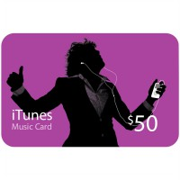 iTunes Gift Certificate / Card US $50