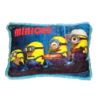 Smiley Kids Bantal Minion Sparkling Orange - 50 x 35cm