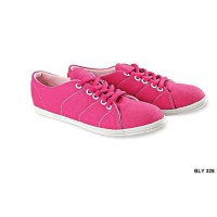 Shoes For Kid Girl Canvas Sol Tpr Pink – BLY 328