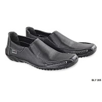 Semi Formal Male Shoes Kulit Sol Tpr Hitam – BLY 205