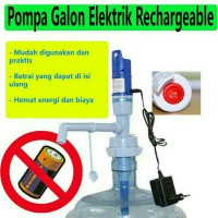 Pompa Air Galon Elektrik Charger / Water Pump Electronic