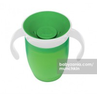Munchkin Miracle 360 Trainer Cup - Green White