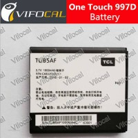 [globalbuy] TCL Alcatel one touch 997D Battery OT-997 OT997 TLiB5AF 1800mah battery 100 Or/2788518