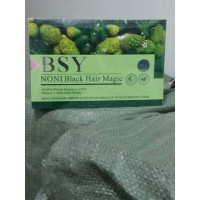 SHAMPOO BSY NONI BLACK HAIR MAGIC - 3 LOGO 2 HOLLO