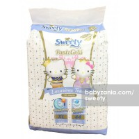 Sweety Popok Bayi Pantz Royal Gold - XL 44